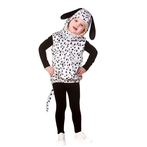 Childrens Child Tabard - Dalmatian Costume Unisex Fancy Dress